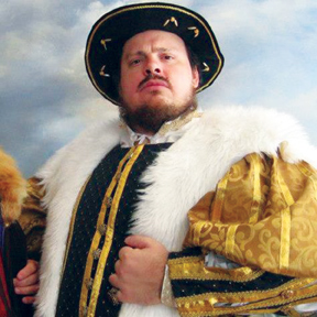"""WCC theater instructor Nick Logue plays the lead role in """"Henry VIII"""" at the 2012 Hawai'i Shakespeare Festival – Courtesy of Nick Logue"""