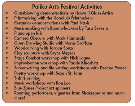 Palikū Arts Festival celebrates the creative spirit