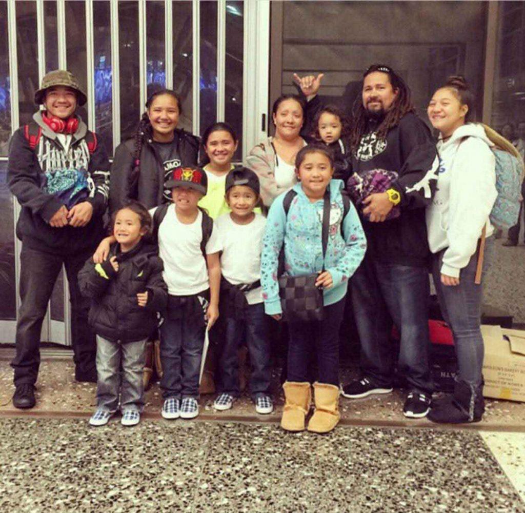 The Furtado-Tom 'ohana was once homeless in Waimanalo – Courtesy of Rachell Furtado-Tom